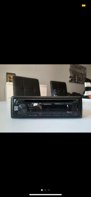 Radio kenwood cd,mp3,usb,Bluetooth