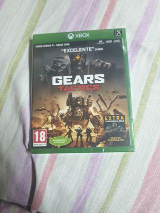 Gears Tactics xbox one y series x precintado