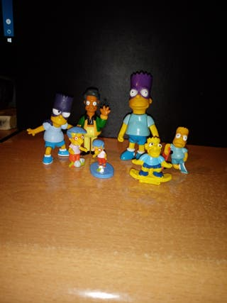 Lote Figuras Simpsons