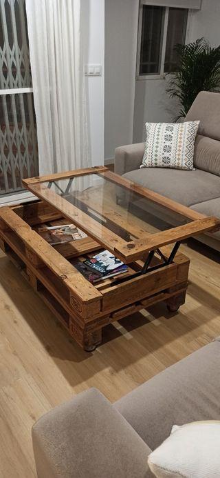 Mesa de palet elevable