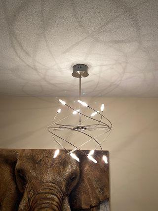 Lámpara techo a Loja do gato Preto