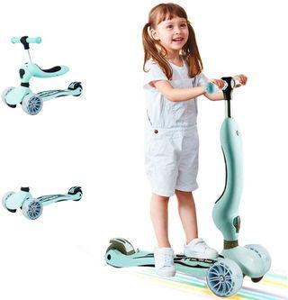 Patinente Scooter para niños 3 en 1