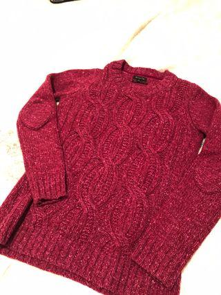 Jersey lana Massimo Dutti S