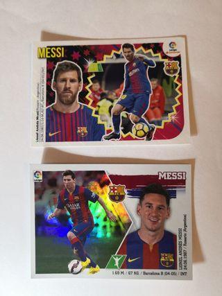 cromos panini Lionel Messi