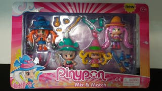 Pinypon mix and match.