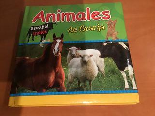 ANIMALES DE GRANJA ESPAÑOL-INGLÉS
