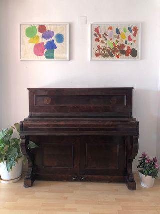 Piano de pared antiguo Jose Aliaga ~Valencia~