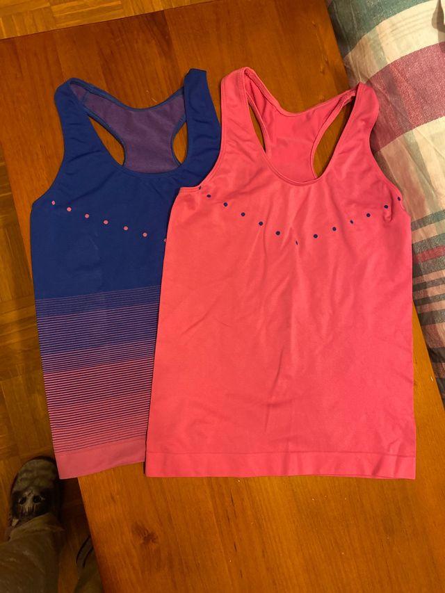 Lote de dos camisetas espalda nadadora Primar