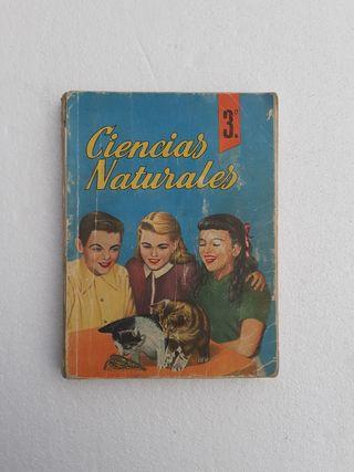 Libro Ciencias Naturales 1964