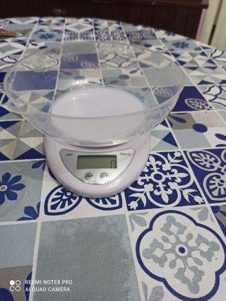 Balanza electrónica de cocina