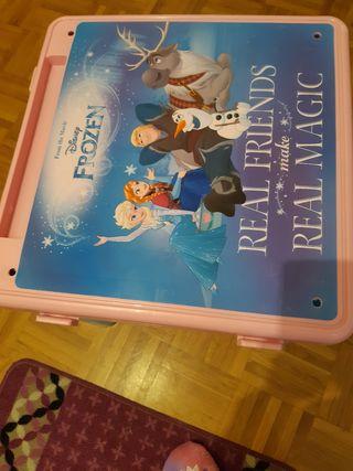 mesa infantil frozen