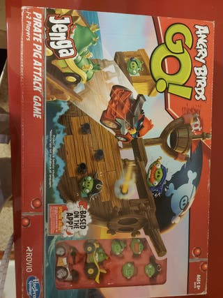 pirate pig attack angry birds