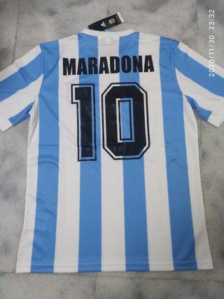 Camiseta Maradona Mundial 78