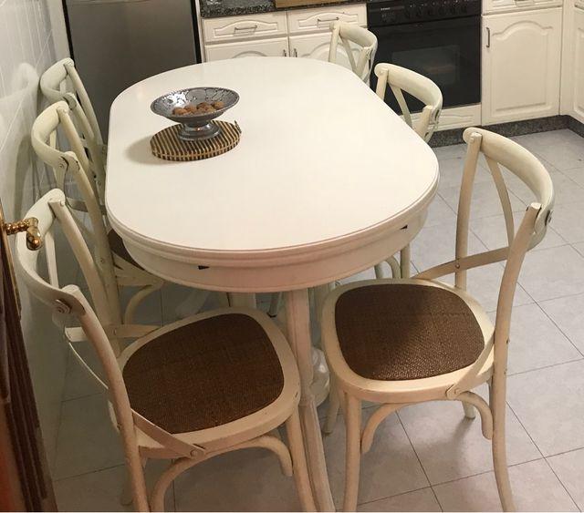 6 sillas comedor 240 €