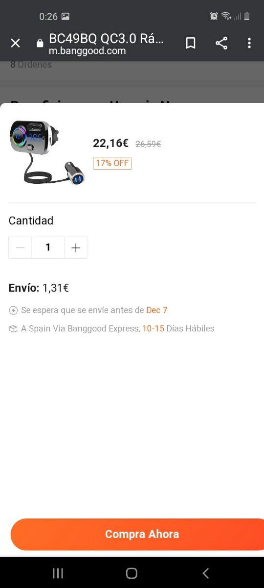 bt-hands free car charger bc49bq