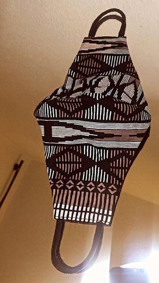 Mascarilla de tela diseño