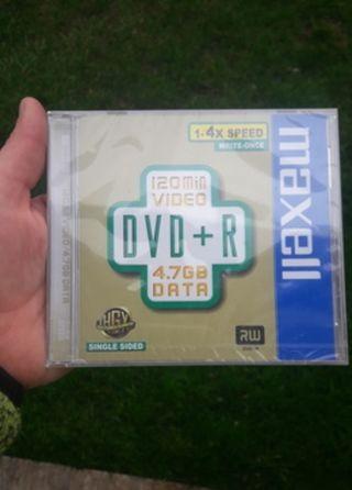 CD SINGLE DVD+R, 7GB COMPATIBLES