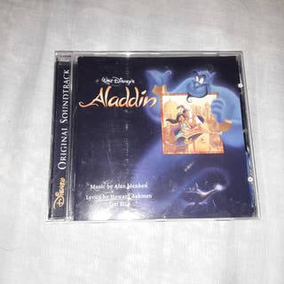 CD ALADDIN. Original Soundtrack.