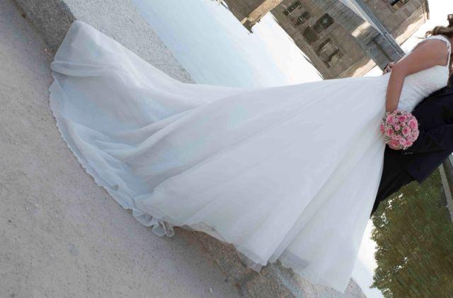 vestido de novia Pronovias estilo princesa
