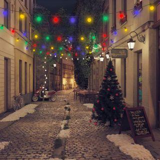 Guirnalda de Luces de Navidad 59 Metros