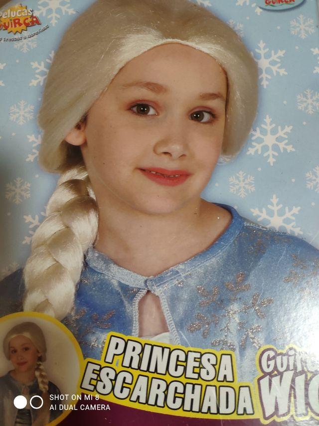 Disfraz de Frozen y peluca nuevo