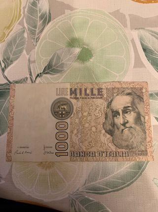 Billete 1000 lire mille