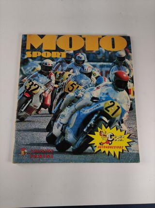 moto sport album de cromos ,postales, cromo crom