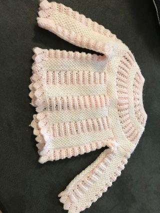 Jersey recién nacido, hecho a mano