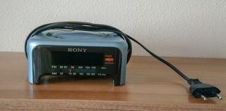 Radio despertador Sony