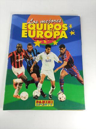 los mejores equipos de Europa,temporada 1997-98