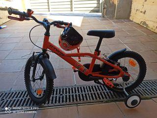 bicicleta seminueva, poco uso
