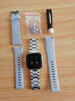 Fitbit versa 2 - reloj deportivo - alexa