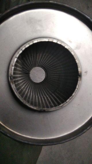 """escape silenciador alto flujo 70mm 2.75"""""""