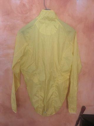 Chubasquero amarillo ciclismo Talla L