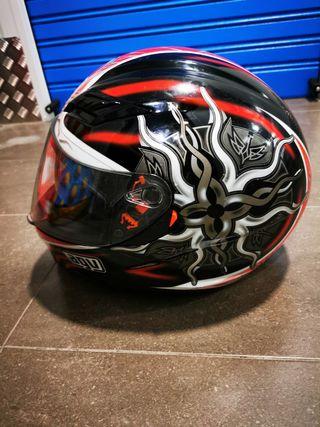 Casco moto AGV talla L