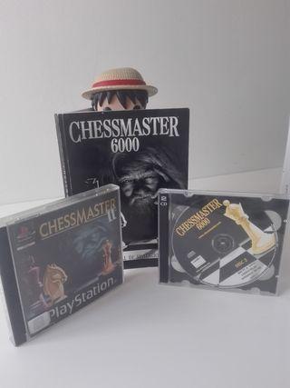 CHESSMASTER PS1 + Regalo libro y DVD