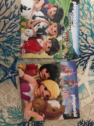 Cd's playmobil princesas y country