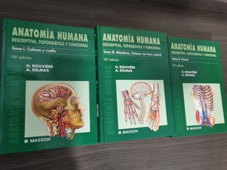 libros anatomía Rouviere