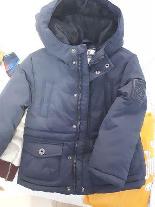 chaqueton niño talla 4 años