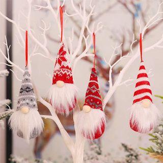 Gnomo de decoración navideña