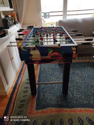 Mesa juegos Futbolín, Air hockey, Billar Ping pong