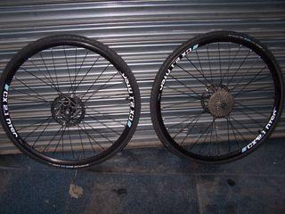 Ruedas CX/ Gravel poco uso