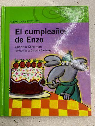 Libro El cumpleaños de Enzo