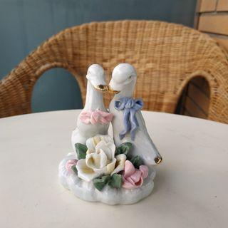 Figura ocas de porcelana - Vintage