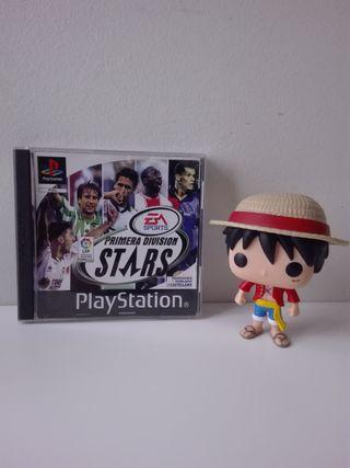 PRIMERA DIVISIÓN STARS (PS1/PSX)