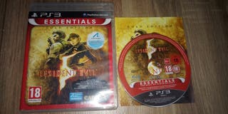 resident Evil 5 gold edition juego ps3