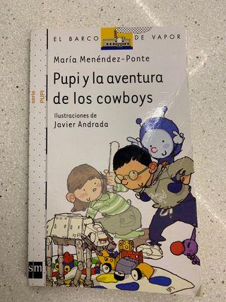 Libro Pupi y la aventura de los cowboys