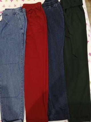 pack Pantalones:2zara+1massimo d. +1only