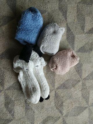 4 calcetines calentitos
