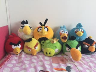 Peluches Angry Birds. Gran Coleccion